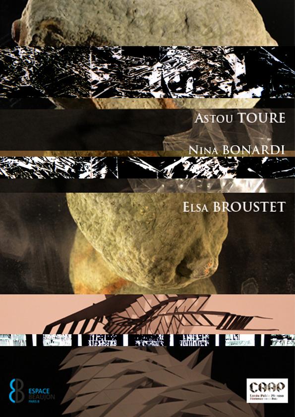Carton exposition Espace Beaujon version définitive avec Nina Astou Elsa