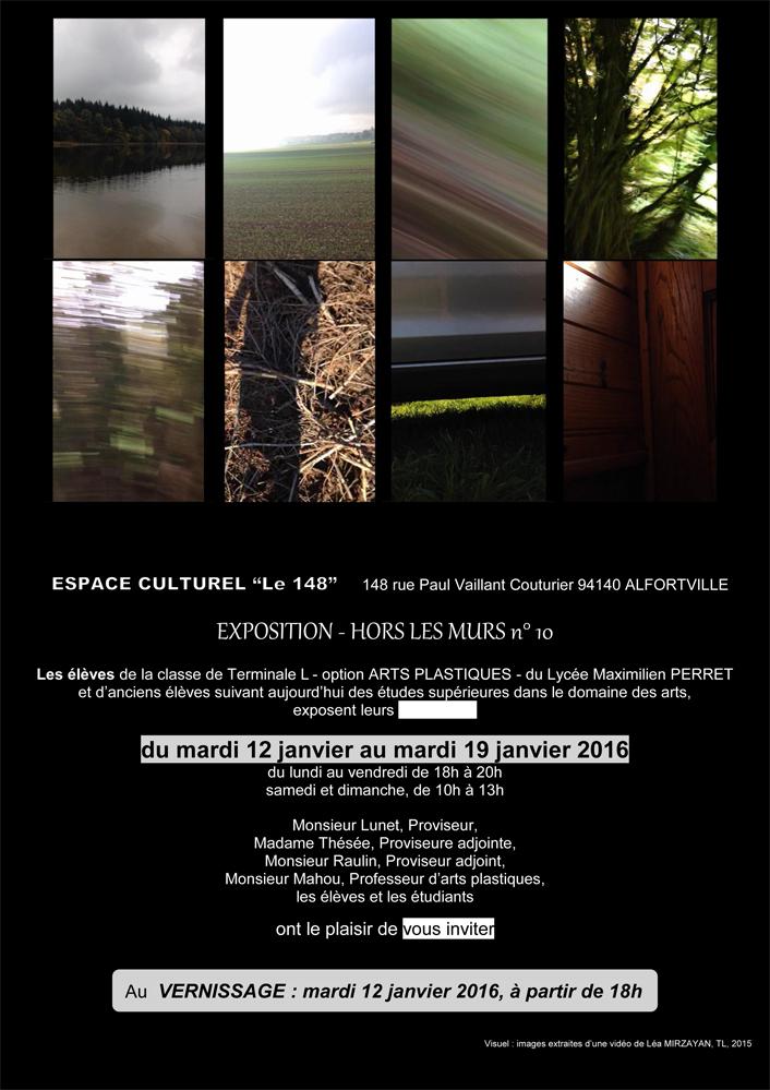 Invitation Expo Hors Les Murs  10ème édition site